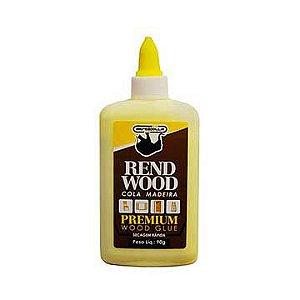 Cola para madeira Rendwood 90g. - Rendicolla
