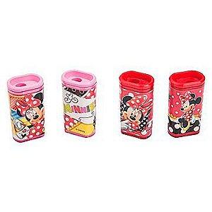 Apontador decorado c/ deposito Minnie Cores Sortidas - Molin