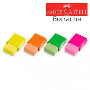 Borracha colorida Fc Max Neon - Faber-Castell