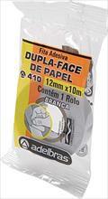 Fita dupla face Flow-Pack 12mmx10mts. - Adelbras