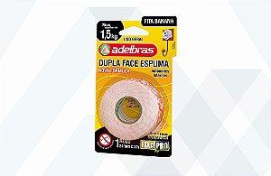 Fita dupla face Fixa Pro Espuma 24mmx2mts - Adelbras