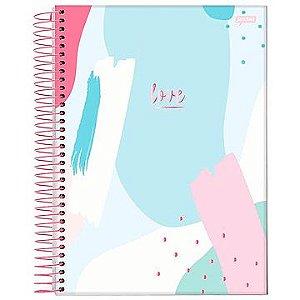 Caderno 12 matérias espiral univ. CD (love) 240 Folhas - Jandaia