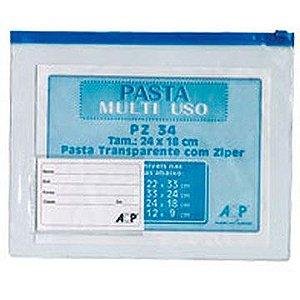 Pasta malote Multiuso Cristal 24x18cm - Acp