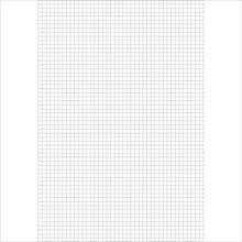 Papel almaço Quadriculado 1x1cm - Tamoio