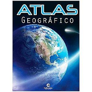 Livro (atlas) Geografico Escolar 32pgs - Culturama