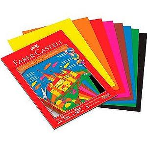 Bloco Criativo 8 Cores A4 80g. 32fls - Faber Castell