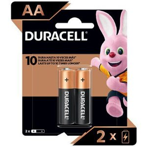 Pilha Duracell Alcalina Pequena AA2 Blister c/ 2Unid. - Duracell