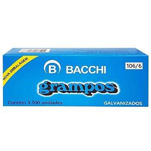 Grampo 106/6 Aco 3500 Grampos - Bacchi