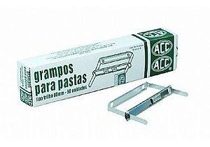 Grampo trilho (em metal) Romeu/Julieta 80mm - Acc