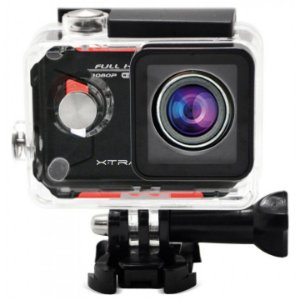 "Câmera de Ação XTRAX Evo FULL HD 12MP WiFi Tela LCD 1.5"" Lente Fish eye 170º"