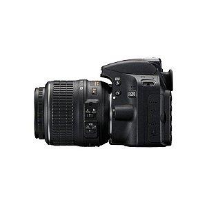 Câmera Digital Nikon D3200 Kit 18x55 24.2mp Preta ou Vermelha - Vinho