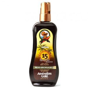BRONZEADOR GEL SPRAY AUSTRALIAN SFP15 237ML