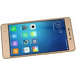 """Smartphone Xiaomi Redmi 3S 32GB LTE Dual Sim Tela 5"""" Câm.13MP+5MP Dourado"""