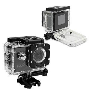 Câmera de Ação e filmadora - wifi SJ4000 LCD 2pol -12MP-FHD Preto
