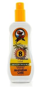 Spray Gel Australian Gold Protetor Solar SPF 8 237 ML