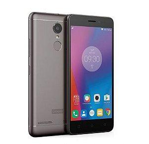"Smartphone Lenovo Vibe K6 16GB  Dual 4G 5"" 13MP/8MP  Cinza"