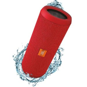 Caixa de Som Portatil JBL Flip 4 Bluetooth Prova Agua IPX7 Vermelho