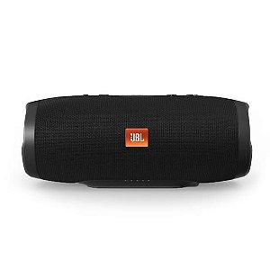 Caixa de som-Speaker JBL Charge 3 Portátil Bluetooth À Prova D'água Preto