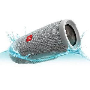 Caixa de som Speaker JBL Charge 3 Portátil Bluetooth À Prova D'água Cinza