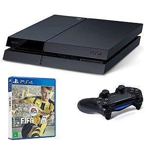 Console Sony PlayStation 4 CUH-2015A Slim 500GB + 1 Jogo Fifa 2017