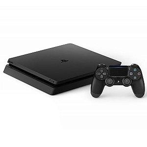 Console Playstation 4 Slim CUH2016B com 1TB de Capacidade (Bivolt) - Preto