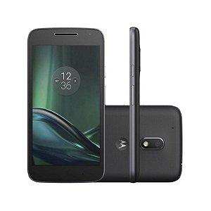 """Smartphone Motorola Moto G4 Play XT1602 16GB LTE Dual Sim Tela 5.0"""" Câm.8MP+5MP- Preto"""