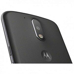 "Smartphone Motorola Moto G4 16GB LTE Dual Sim Tela 5.5"" Câm. 13MP+5MP- Preto"