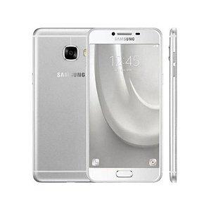 "Smartphone Samsung Galaxy C5 SM-C5000 32GB LTE Dual Sim Tela 5.2"" Câm.16MP+8MP-Prata"