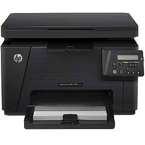 Impressora HP Laser Promfp M176N Multi Color 110V