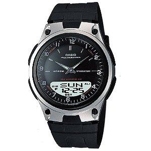Relógio Masculino Casio AW-80-1AVDF - Preto