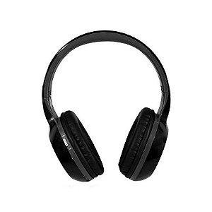 Fone De Ouvido Quanta QTMHP1500 Bluetooth/USB/FM/SD-Preto