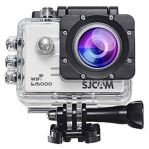 Câmera de Ação SJ5000 14MP- Wi Fi e Lente de 170º com LCD de 2.0 pol Elite 4K Prata