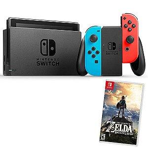 CONSOLE NINTENDO SWITCH 32GB + Jogo Zelda