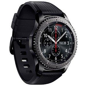 Relógio smartwatch Samsung Gear S3 SM-R760 Frontier WiFi Bluetooth - Grafite