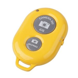 Selfie Controle RS1005 Bluetooth Amarelo