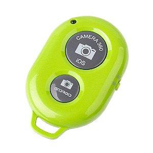 Selfie Controle RS1005 Bluetooth Verde