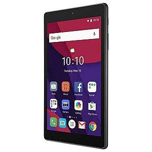 "Tablet Alcatel Pixi 4 9003X Wi Fi/3G 16GB Tela 7"" 5MP/2MP OS 6.0 - Preto"