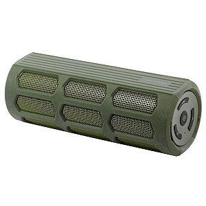 Caixa de Som Speaker Roadstar Boost Bluetooth v.4.0 6w X2 3000mAh com USB/Micro SD/ Auxiliar – Verde
