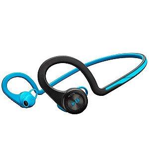 Fone Sem Fio Plantronics BackBeat Fit com Bluetooth v.3.0 - Azul/Preto