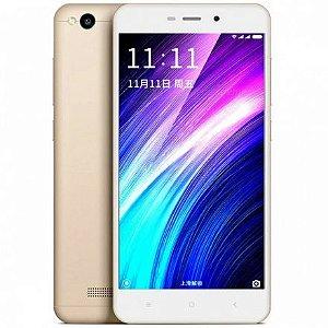 """Smartphone Xiaomi Redmi 4A  32GB LTE Dual Sim Tela 5"""" Câm.13MP+5MP Dourado"""