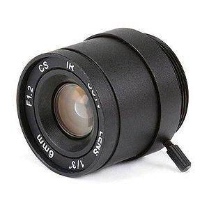 Lente para Câmera 6mm Autou Iris VS-0612NI