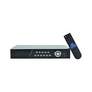 DVR MDL-64B 4 Canais Wifi USB PTZ Áudio