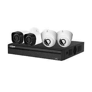 Kit 8 Canais HDCVI 4 Câmeras DVR 8 Canais VB-HDCVI8700