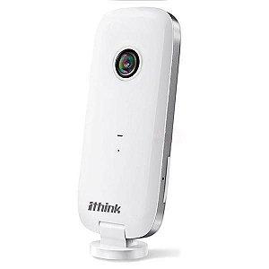 Câmera de Monitoramento Ithink IPTV Wi-fi IOS/Android HD1080 - Branco