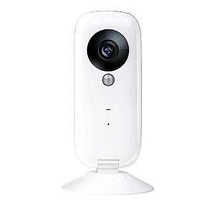 Câmera de Monitoramento IPTV Wi-fi IOS/Android HD720 - Branco
