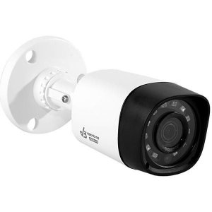 Câmera de Vigilância VisionBras HDCVI HFW1000RM 1MP 720p 3.6mm/2.8mm com Infravermelho