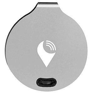 Localizador de Objetos Trackr Bravo TB001(2 unidades) com GPS/Bluetooth - Prata
