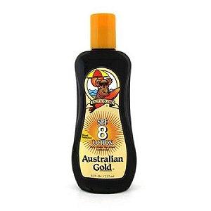 Loção Protetor Solar Australian Gold FPS 8 237ml