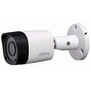 """Câmera de Vigilância CFTV HDCVI DH-HAC-HFW1000RN Lente 2.8 mm CMOS 1/4"""" - Branca"""