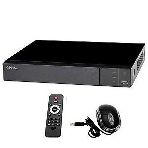 CCTV QSee HD DVR QTH43 4 Canais H.264/USB/HDMI/VGA/RS485 - Preto